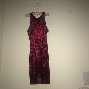 Size Small forever 21 velvet dress